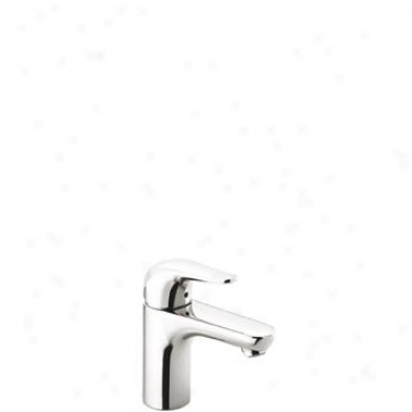 Hansgrohe 40193820 Metro E Single-hole Lavatory Faucet, Brushed Nickel