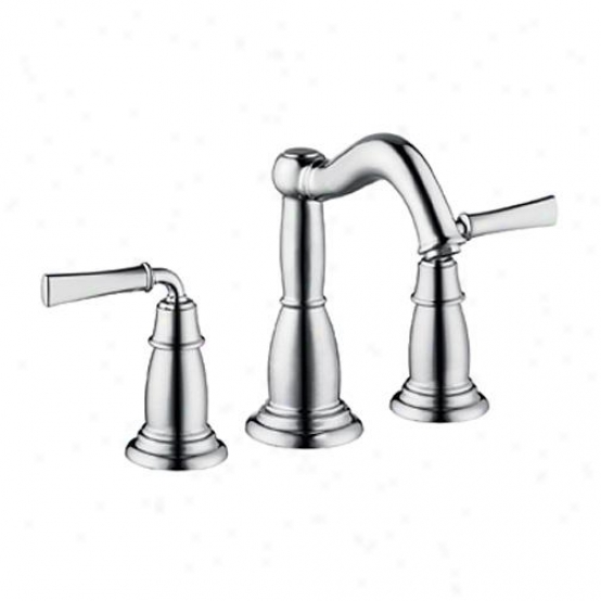 Hansgrohe 04270000 Tango C Widespread Faucet By the side of Classic Lever Handles, Chrome