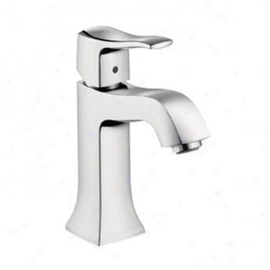 Hansgrohe 31075821 Metric C Single-hole Faucet, Brushed Nickel
