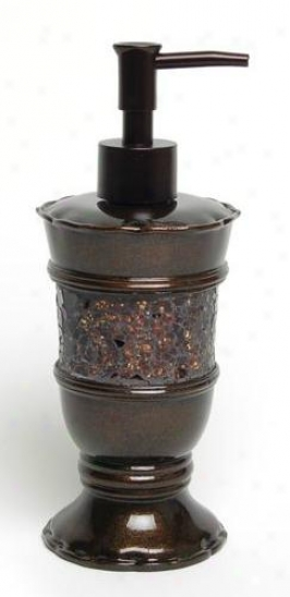 India Ink 2619531351 Prescott Lotion Dispenser, Metalllic Bronze