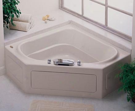 Jacuzzi Cps5555bcxxxxw Capella 55 Bath W/skirt, White