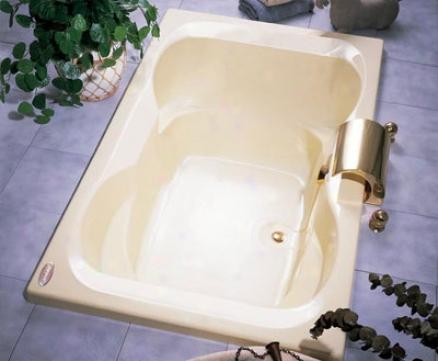 Jacuzzi Mit6042bcxxxxw Mito 5 Soaking Bath, White