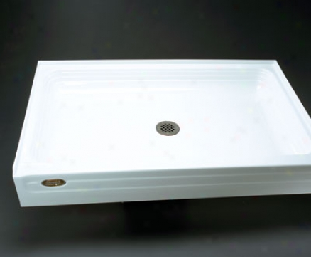 Jacuzzi T366-959 Tru-level 42 X 48 T366 Shower Base, White