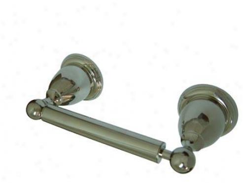 Kingsto Assurance Ba1758pn Heritage Toilet Paper Holder, Polished Nickel