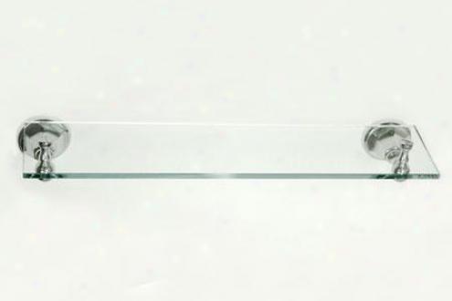 Kingston Brass Ba4819c Metropolitan Glass Shelf, Chrome