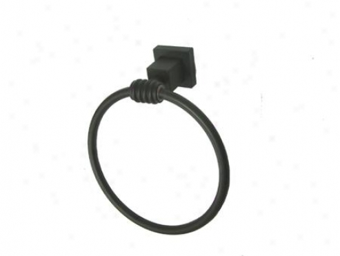 Kingston Brass Bah4644orb Fortress Towel Ring, Oil Rubbed Bronze