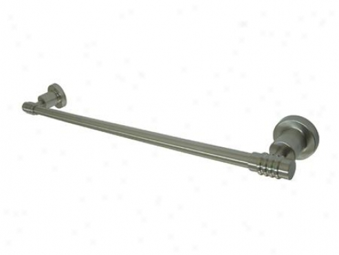Kingston Brass Bah8612sn Milano 18 Towel Tribunal, Satin Nickel