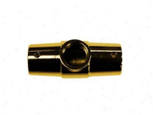 Kingston Brass Ccrca2 Vintage Shower Ring Connector, Polished Brass