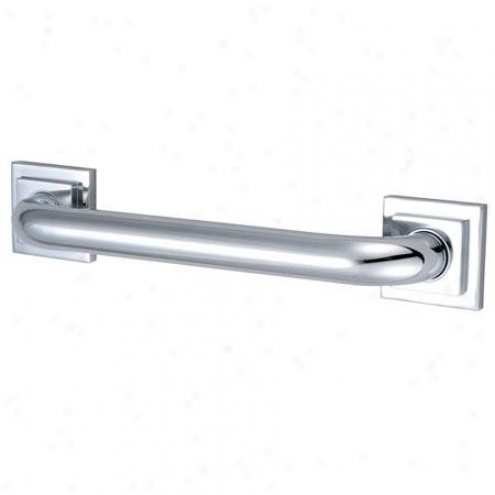 Kingston Brass Dr614301 Claremojt 30 Tetragon Decod Grab Bar 1-1/4 Od, Chrome