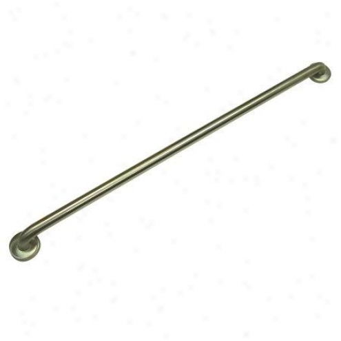 Kingston Brass Gb1442cs Made To Match Decorative Grab Bar, 1-1/4 Od, 42 Length, Satin Nickel