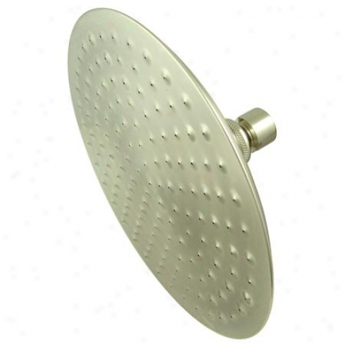 Kingston Assurance K136a8 Victorian 8 Large Shower Head, Satin Nickel