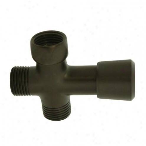Kingston Brass K161a5 Plumbing Parts Brass Shower Diverter, Oil Rubbed Bronze