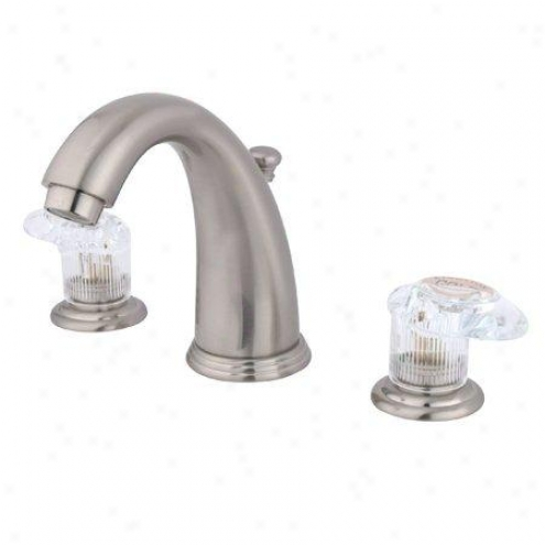 Kingston Brass Kb988all Vintage Widespread Lavatory Faucet, Satin Nickel