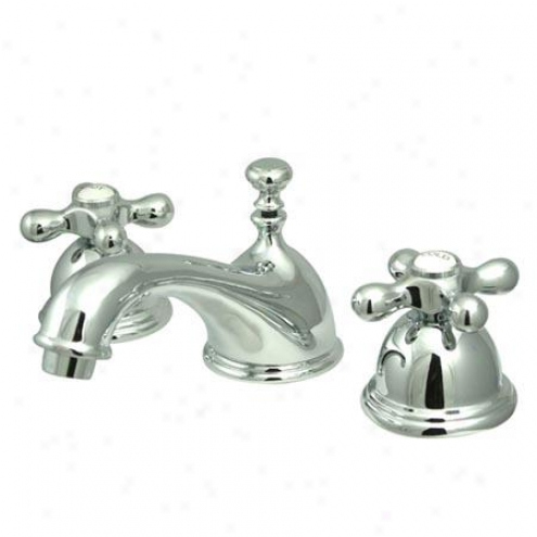 Kingston Brass Ks3961ax Replacement Widespread Bathroom Faucet, 8 - 16 pSread, Chrome