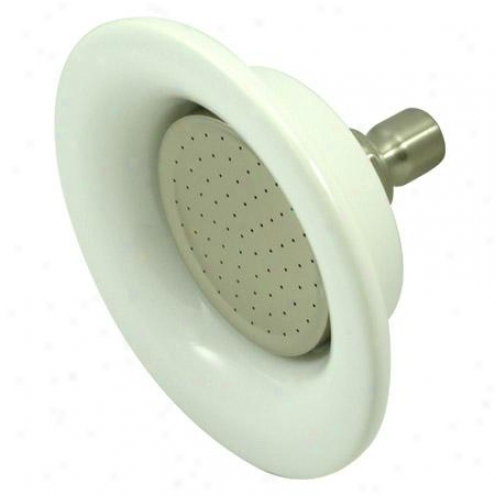 Kingston Brass P60sn Victorian Sunflower Shower Head, Satin Nickel