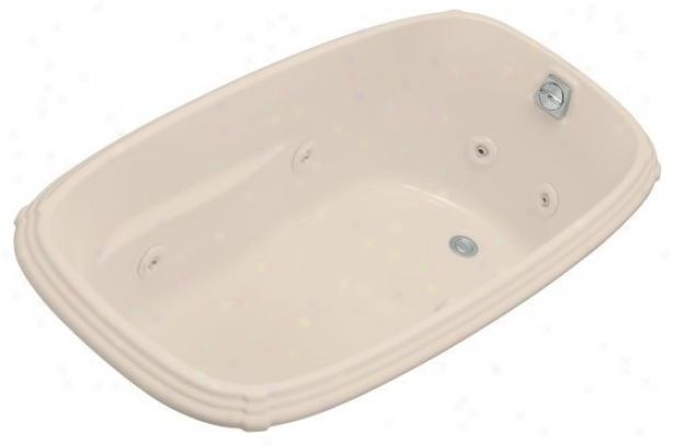 Kohler K-1014-ha-55 Portrait 5' Whirlpool In the opinion of Habit  Pump Location, Innocent Blush