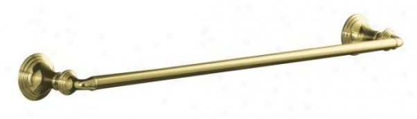 Kohler K-10551-pb Devonshire 24 Towel Bar, Vibrant Polished Brass