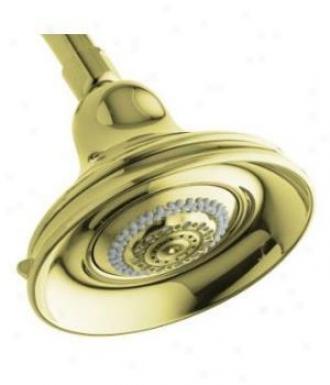 Kohler K-10591-af Bancroft Multi-function Showerhead, Vibrant French Gold