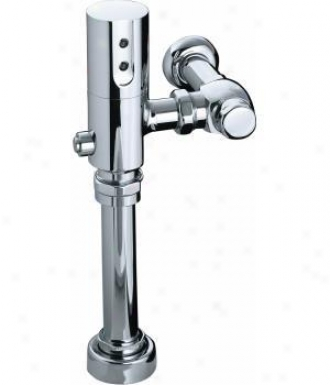 Kohler K-10957-cp 1.6 Gpf/6.0 Lpf Touchless Dc Toilet Flushometer With Tripoint Technology, Polished