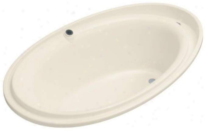 Kohldr K-1110-g-47 Purist Bubblemassage Bath, Almond