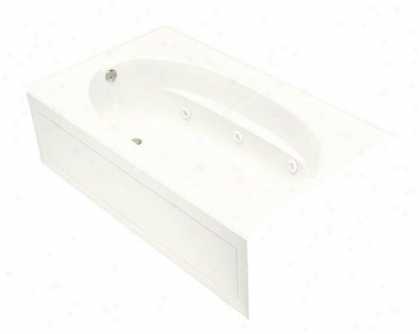 Kohler K-112-la-0 Windward 5' Whirlpool With Integral Apron And Left-hand Drain, Of a ~ color