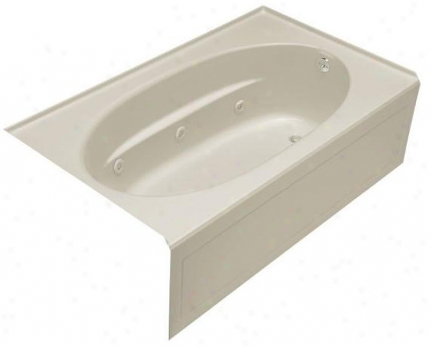 Kohler K-1112-ra-g9 Windward 5' Whirlpool Wit hIntegral Apron And Right-hsnd Drain, Sahdbar