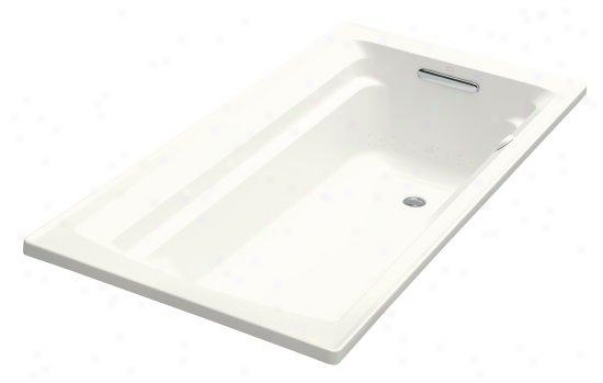 Kohler K-1122-g-0 Archer Bubblemassage 5' Bath With Cofort Depth Design, White