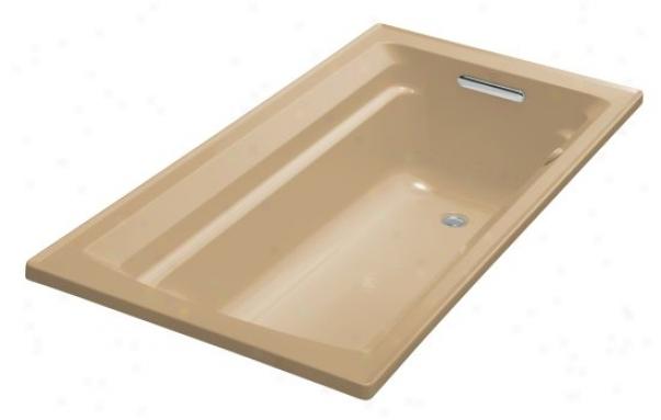 Kohler K-1122-g-33 Archer 60 X 32 Whirlpool Bubblemassage Bath Tub With Comfort Depth Design, Mexi