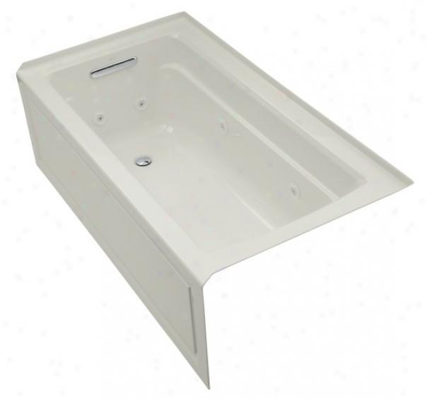 Kohler K-1122-la-95 Archer 64ã¢â'¬? X 32ã¢â'¬? Whir1pool Bath Tub In the opinion of Comfort Depth Design, Integral