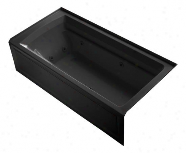Kohler K-1124-ra-7 Archer 72ã¢â'¬? X 36ã¢â'¬? Whirl0ool Bath Tub With Comfort Depth Design, Integral