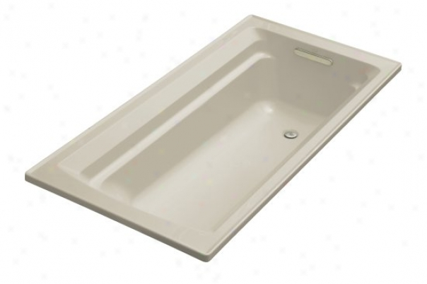Kohler K-1125-g9 Archer 72ã¢â'¬? X 36ã¢â¬? Bath Tub With Comfort Depth Design, Sandbar