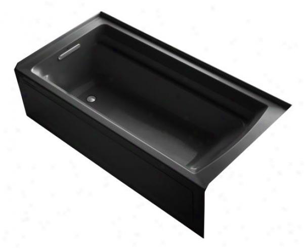 Kohler K-1125-la-7 Archer 72 X 36 Bath Tub With Comfort Depth Design, Integrsl Apron And Left-hand