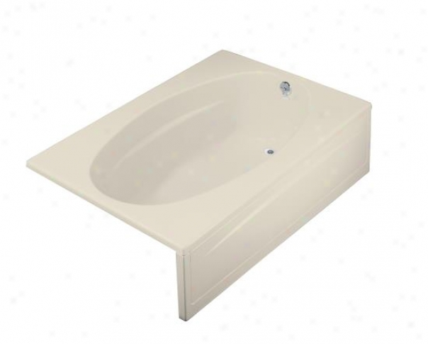Kohler K-1127-r-47 Proflex 60ã¢â'¬? X 42ã¢â'¬? Bath Tub With Flange And Right-hand Drain, Almond