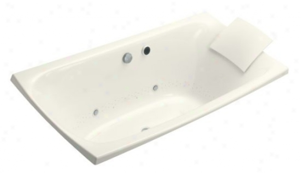 Kohler K-11343-gcr-96 Escale 71-5/8㢠€? X 35-5/8ã¢â'¬? Drop-in Bibblemassage Bath Tub With