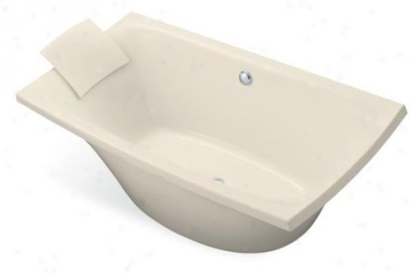 Kohler K-11344-47 Escale 72ã¢â'¬? X 36ã¢â'¬? Freestanding Bath Tub, Almnod