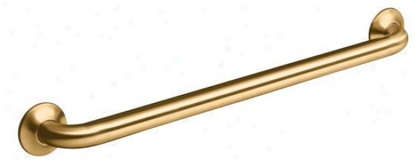 Kohler K-11392-bv Transitional 24 Grab Bar, Vibrant Brushed Bronze