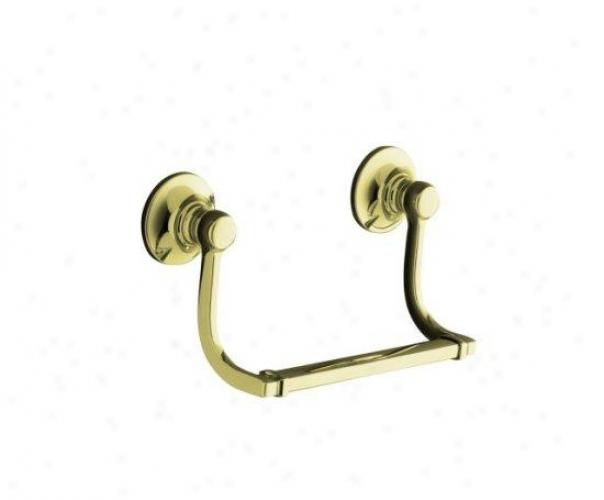 Kohler K-11417-af Bancroft Hand Towel Holder, Vibrant French Gold