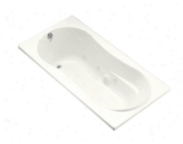 Kohler K-1157-cn-0 Proflex 7236 Whirlpool With Custom Pump Locating, White