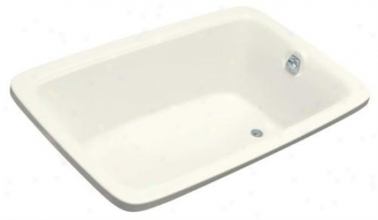 Kohler K-1158-g-96 Bancroft 5.5' Experience Bubblemassage Bath With Heater, Biscuit