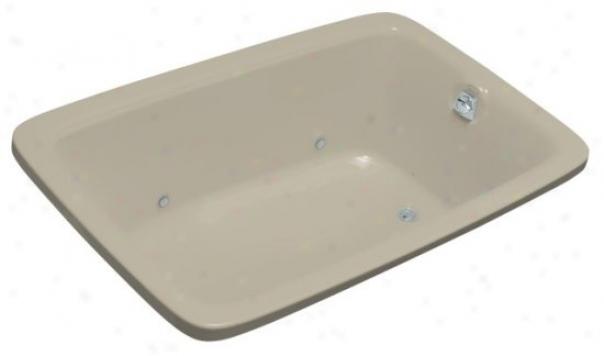 Kohler K-1158-gcr-g9 Bancroft 5.5' Experience Bubblemasdage Bath With Heater And Chromatherapy, Gravel