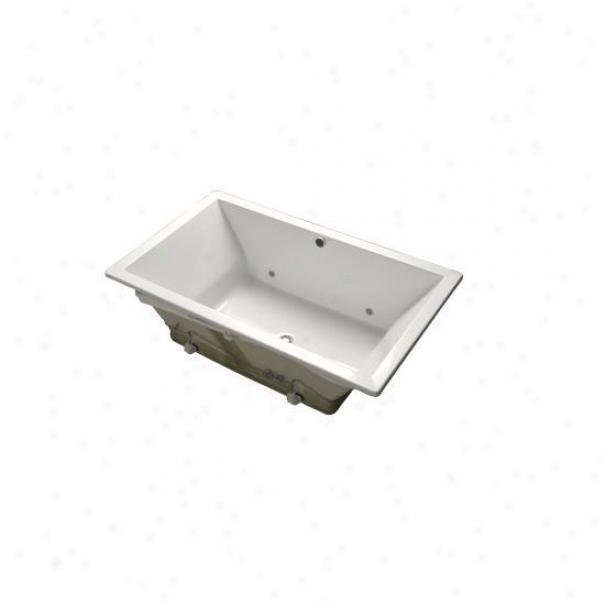 Kohler K-1174-g-0 Underscore 6' Acrylic Bubblemassage Bath, White