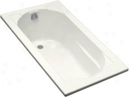 Kohler K-1184-0 Devonshire Drrop-in Bath, White