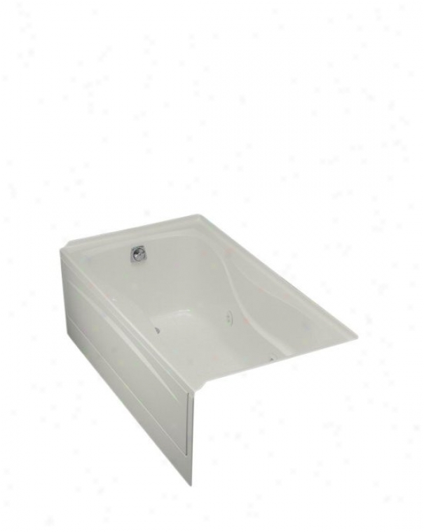 Kohler K-1209-la-95 Hourglass 32 Whirlpool With Integral Apron, Flange And Left-hand Drain, Ide Grey