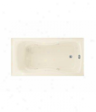 Kohler K-1209-rh-0 Hourglass 32 Whirl0ool With Flange, Heater And Right-hand Drajn, White