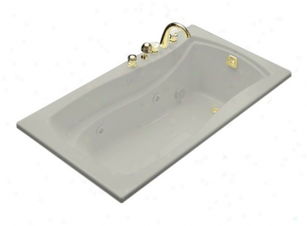 Kohler K-1224-95 Mariposa 5.5' Whiropool With Reversible Drain, Ice Grey