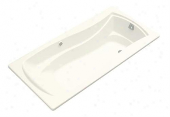 Kohler K-1257-g-0 Mariposa 6' Bubblemassage Bath, White