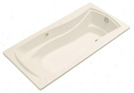 Kohler K-1257-grf-47 Mariplsa 6' Bubblemassage Bath With Integral Flange And Right-hand Drian, Almon