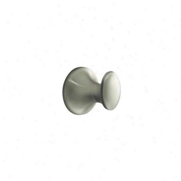 Kohler K-13433-bbn Coralas Robe Hook, Vibrant Brushed Nickel