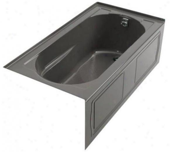 Kohler K-1357-gra-58 Devonshire 5' Bubblemassage Bath With Intwgral Apron And Right-hznd Drain, Thun