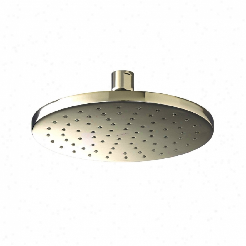 Kohler K-13688-en 8 Contemporary Round Rain Showerhead, Vibrant Polished Nickel